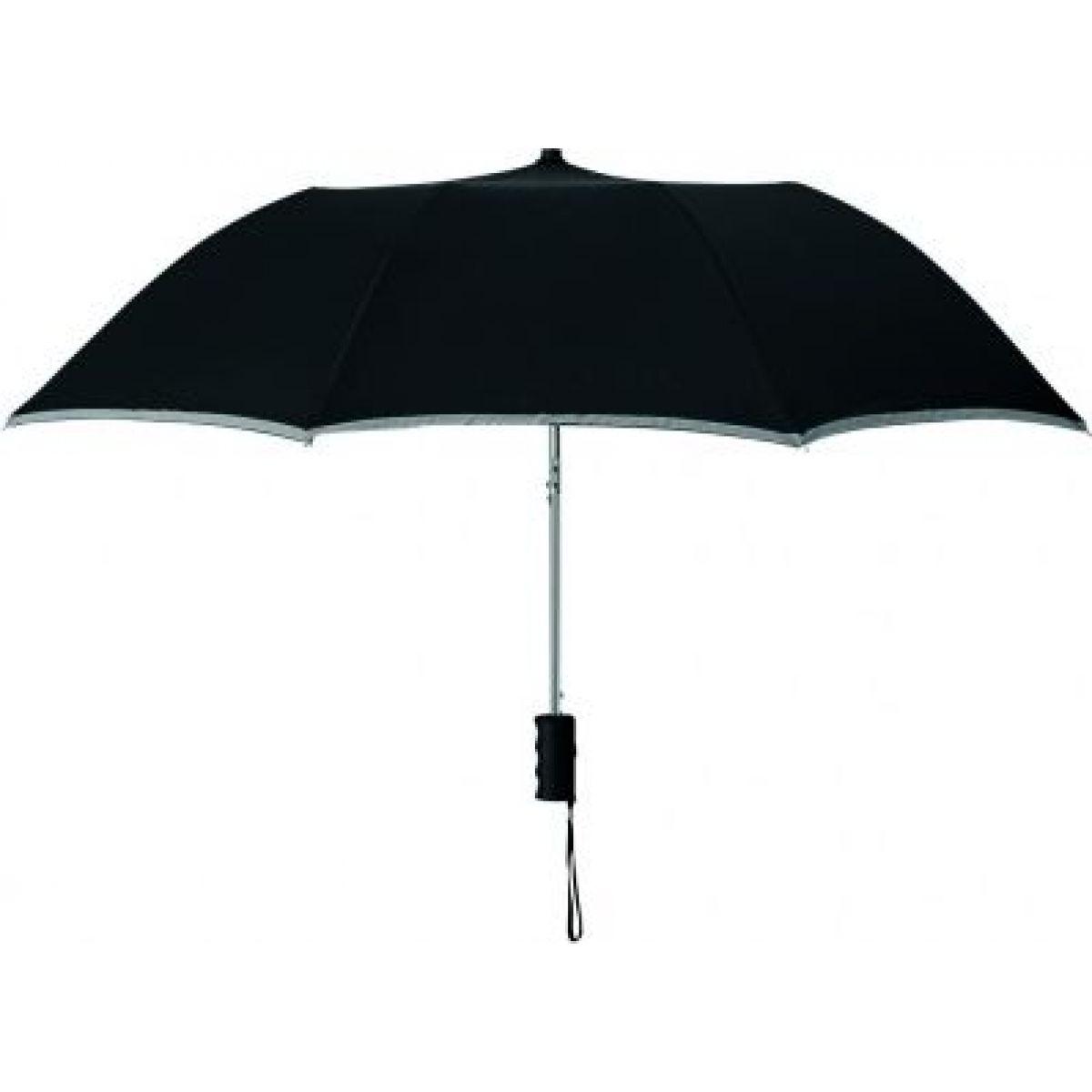 Altima Reflexní deštník černý
