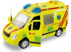 Ambulance na setrvačník se zvukem