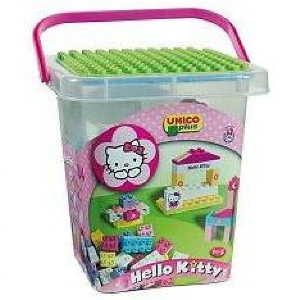 Androni Kyblíček Hello Kitty s kostičkami, velký