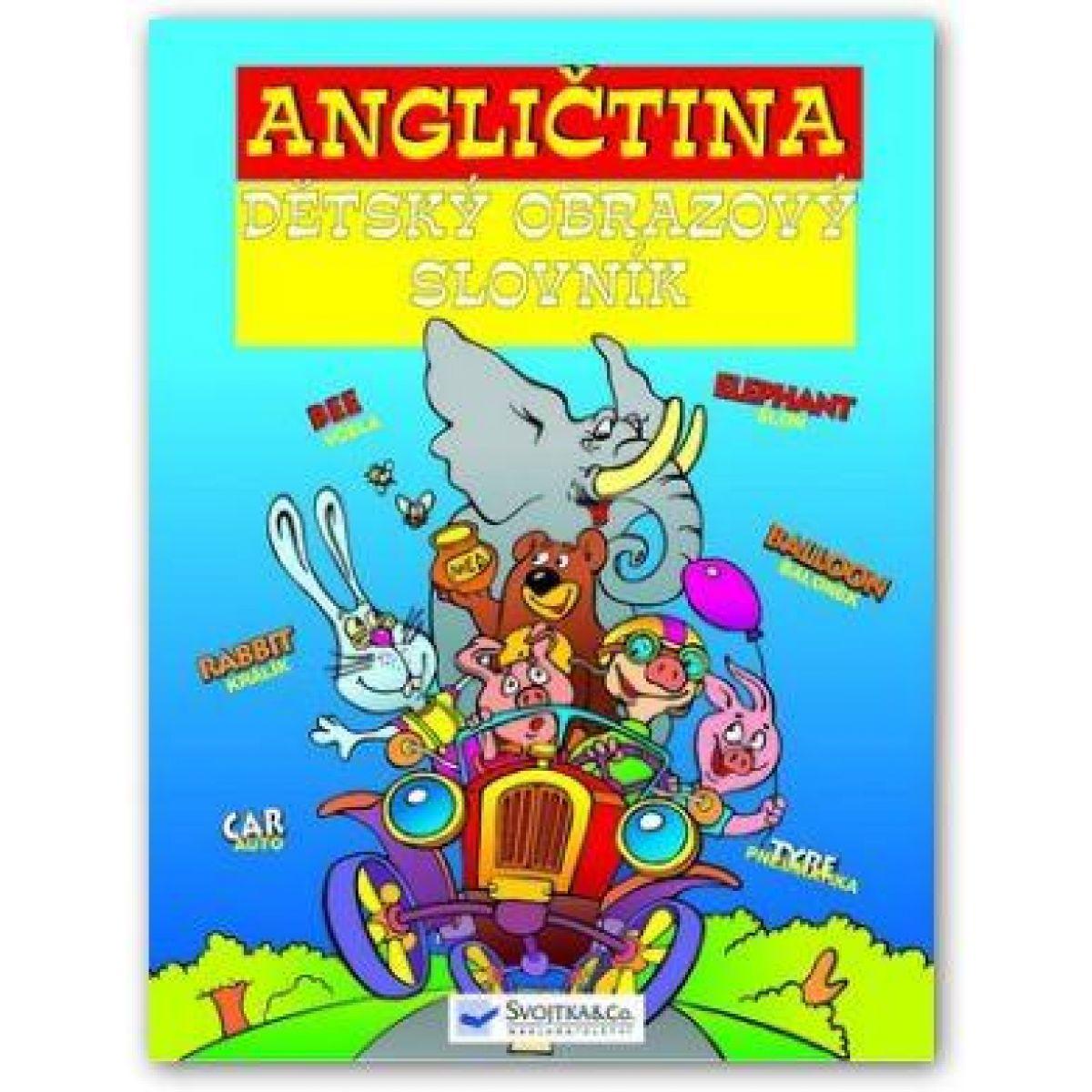 Angličtina - dětský obrazový slovník