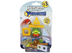Angry Birds MASH´EMS Hrací sada - Prase zelené s knírem
