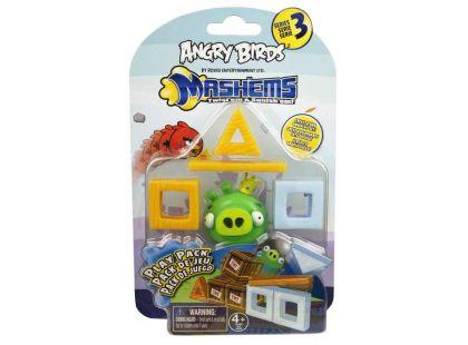 Angry Birds MASH´EMS Hrací sada - Prase zelené s korunkou