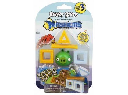 Angry Birds MASH´EMS Hrací sada - Prase zelené
