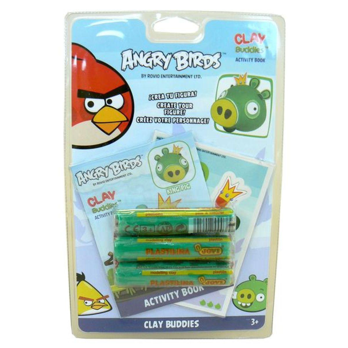 Angry Birds Modelína blistr pack