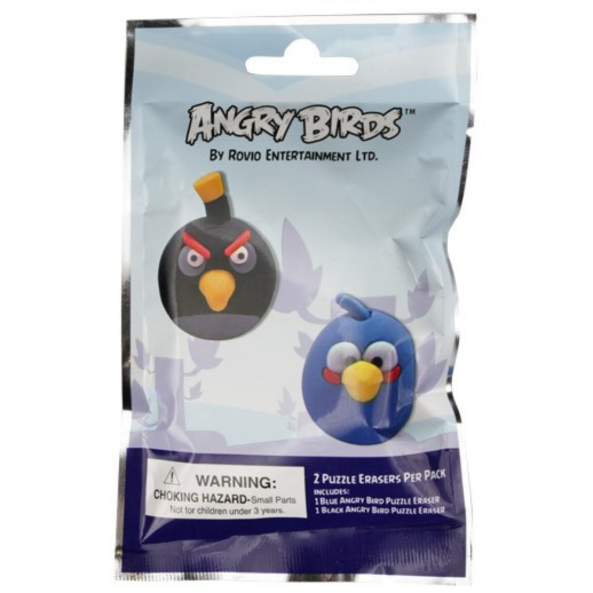 Angry Birds Puzzle guma 2-pack