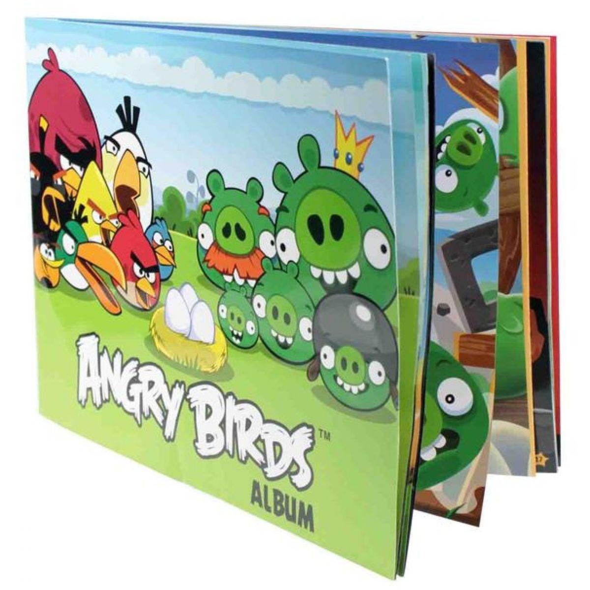 Angry Birds Sběratelské album na samolepky
