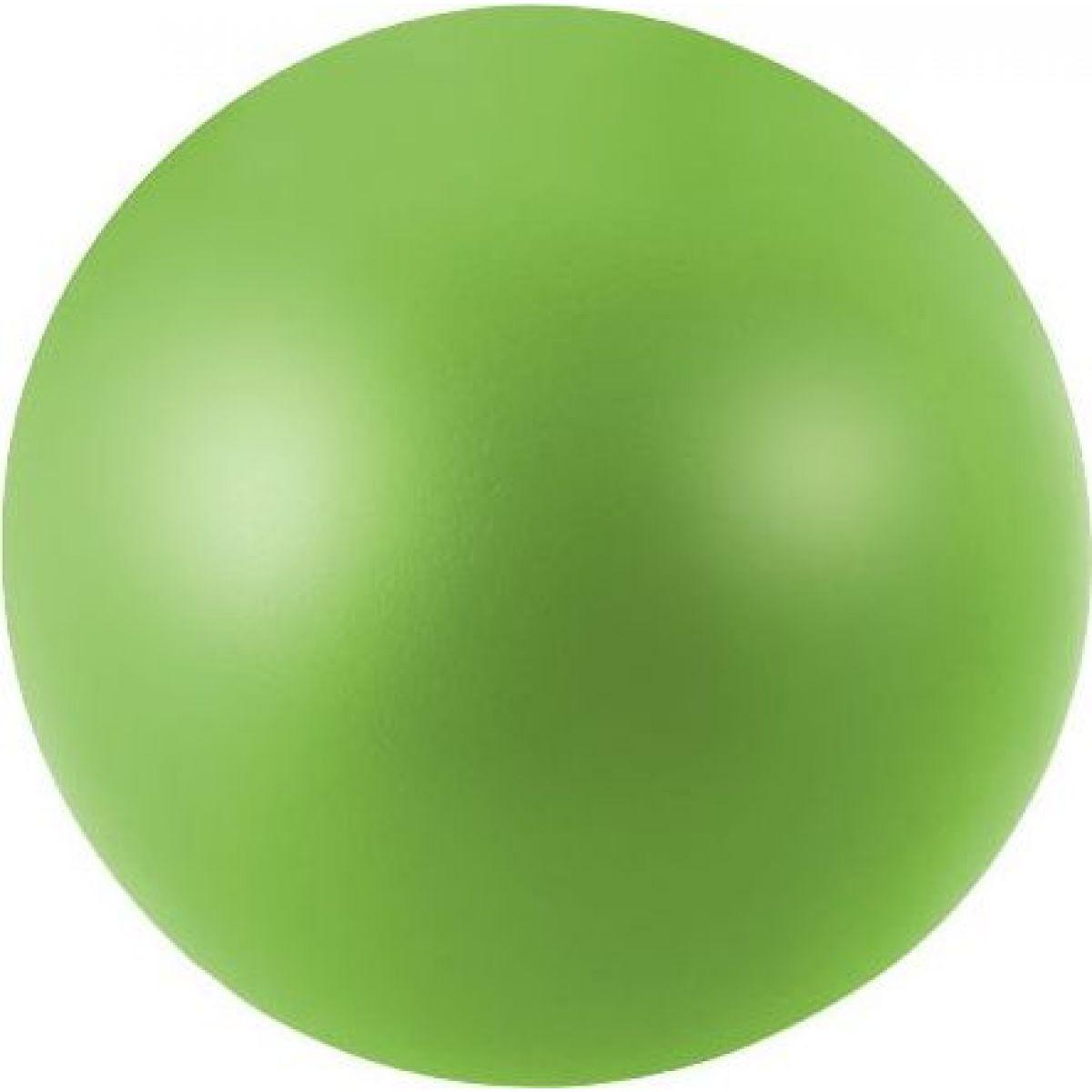 Antistresový míček 6,5 cm svítící ve tmě zelený