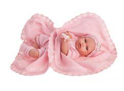 Antonio Juan 1789 Peke realistická panenka miminko se speciální pohybovou funkcí a měkkým látkovým tělem 29 cm