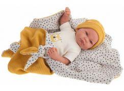 Antonio Juan 33113 Nico realistická panenka miminko s měkkým látkovým tělem 40 cm