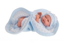 Antonio Juan 4069 Pitu realistická panenka miminko s celovinylovým tělem 26 cm