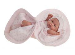 Antonio Juan 4070 Pitu realistická panenka miminko s celovinylovým tělem 26 cm