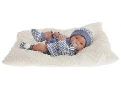 Antonio Juan 5035 Pipo realistická panenka miminko s celovinylovým tělem 42 cm