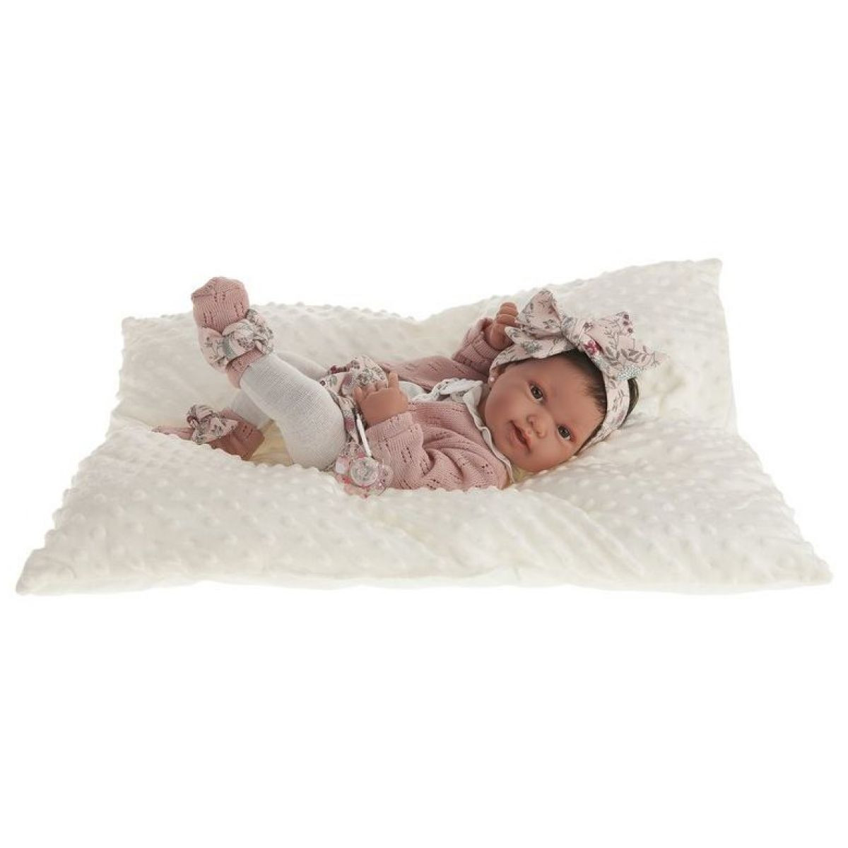 Antonio Juan 5036 Pipa realistická panenka miminko s celovinylovým tělem 42 cm