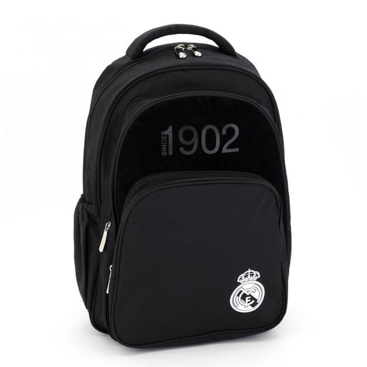 Ars Una Školní batoh Real Madrid black 3k
