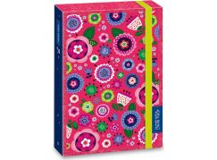 Ars Una Box na sešity La belle fleur A5 Růžové