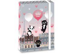 Ars Una Box na sešity Think Pink 20 A4