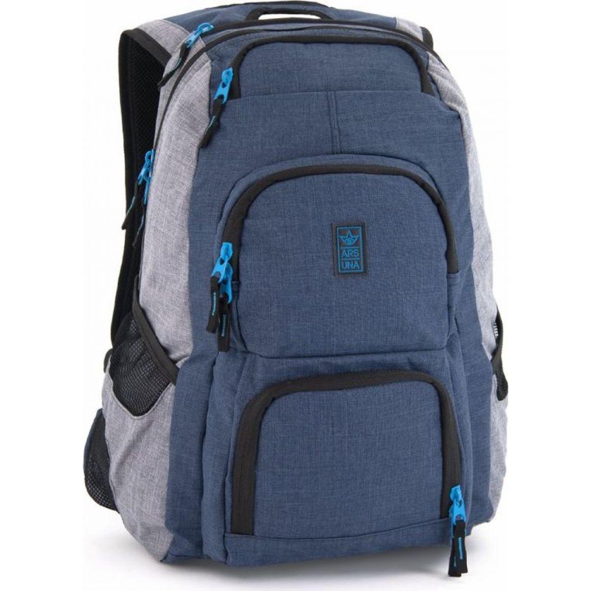 Ars Una Studentský batoh Autonomy AU3 modrošedý