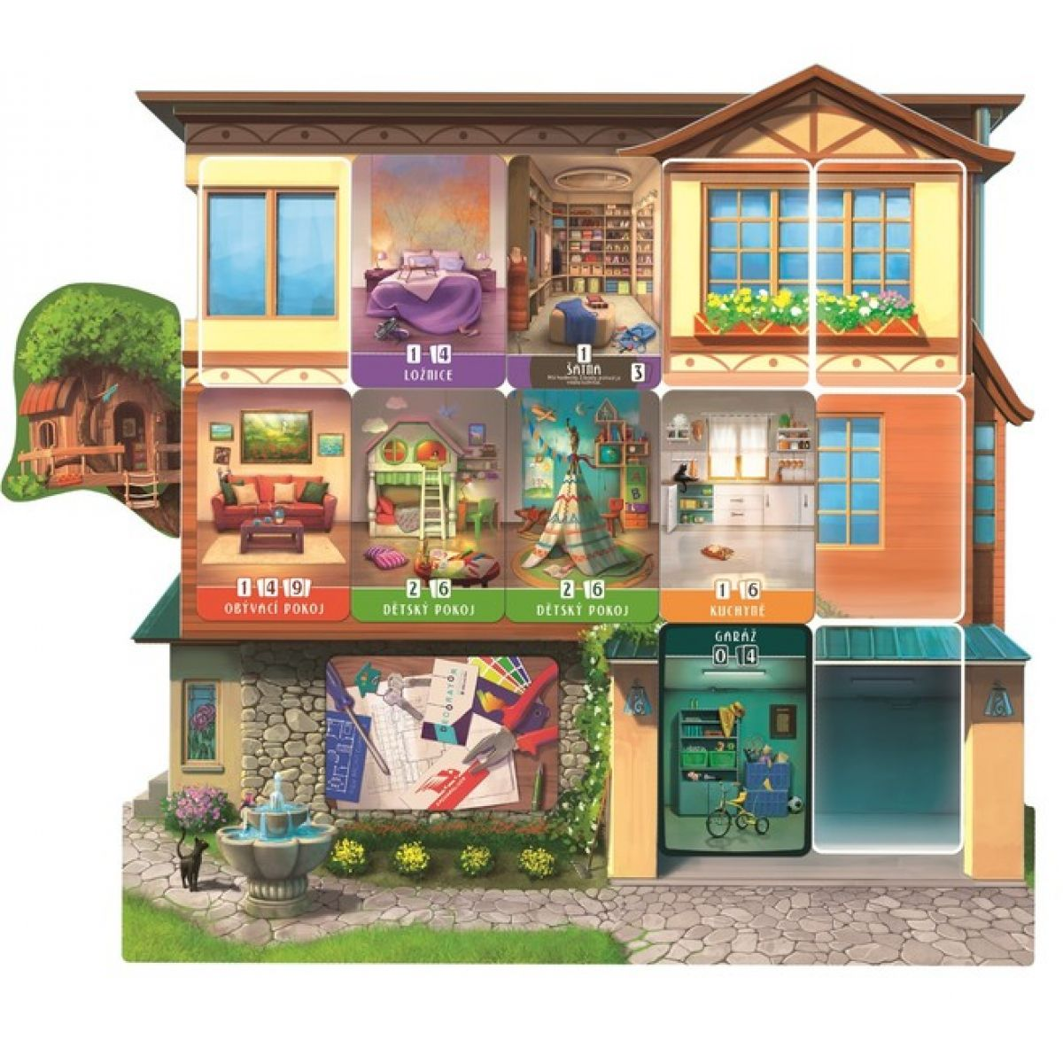 Asmodee Dům snů #3