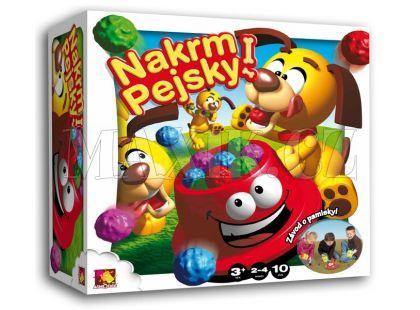 Asmodee Nakrm pejsky! společenská hra