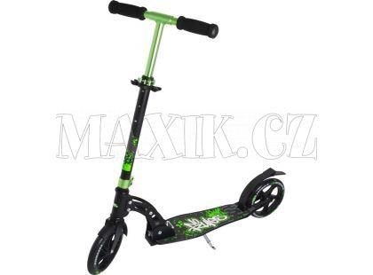 Authentic Sports Skládací koloběžka zeleno-černá