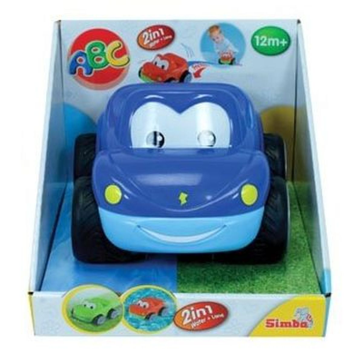 Autíčko pro nejmenší 2v1 - Modrá