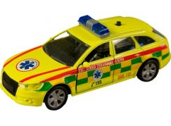 Auto City Collection SK 11 cm pullback Záchranná zdravotná služba