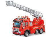 Auto hasičské na dálkové ovládání se žebříkem 4-kanál