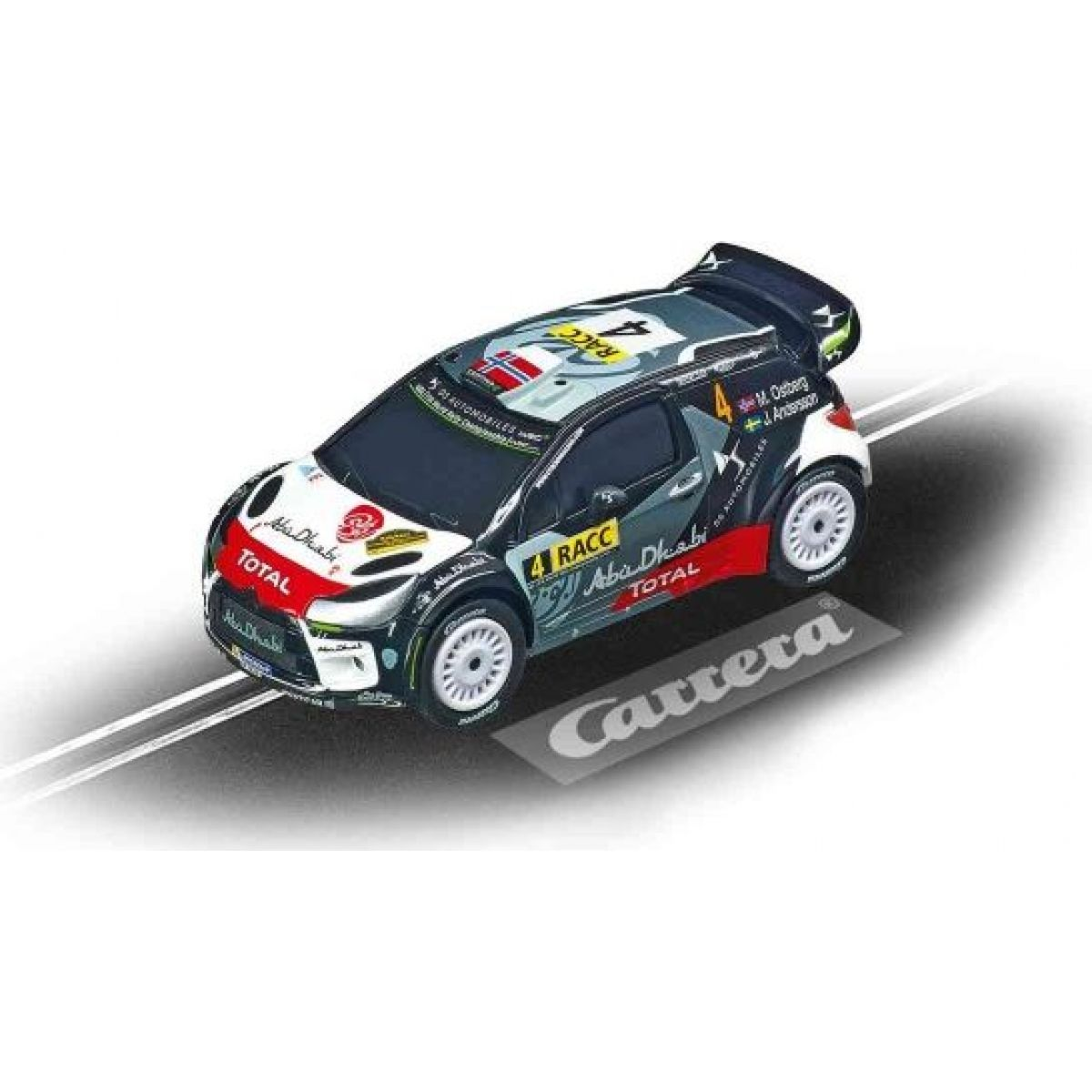 Auto k autodráze Carrera GO 64156 Citroën DS3 WRC M.Ostberg