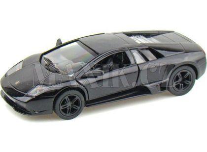Auto Kinsmart Lamborghini Murciélago kov 12,5cm na zpětné natažení - Černá