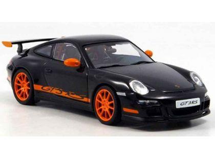 Auto Kinsmart Porsche 911 GT3 RS 2010 kov 12 cm - Černá