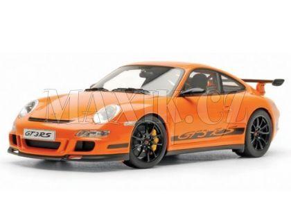 Auto Kinsmart Porsche 911 GT3 RS 2010 kov 12 cm - Oranžová