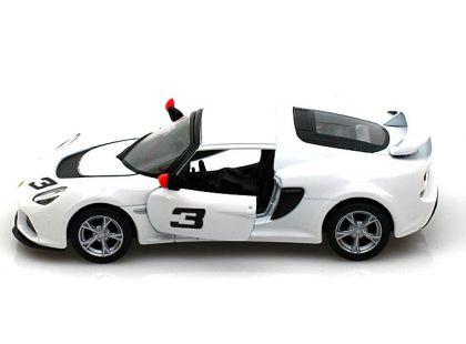Auto Lotus Exide 1:32 13 cm na zpětné natažení - Bílá