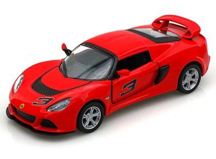 Auto Lotus Exide 1:32 13 cm na zpětné natažení - Červená