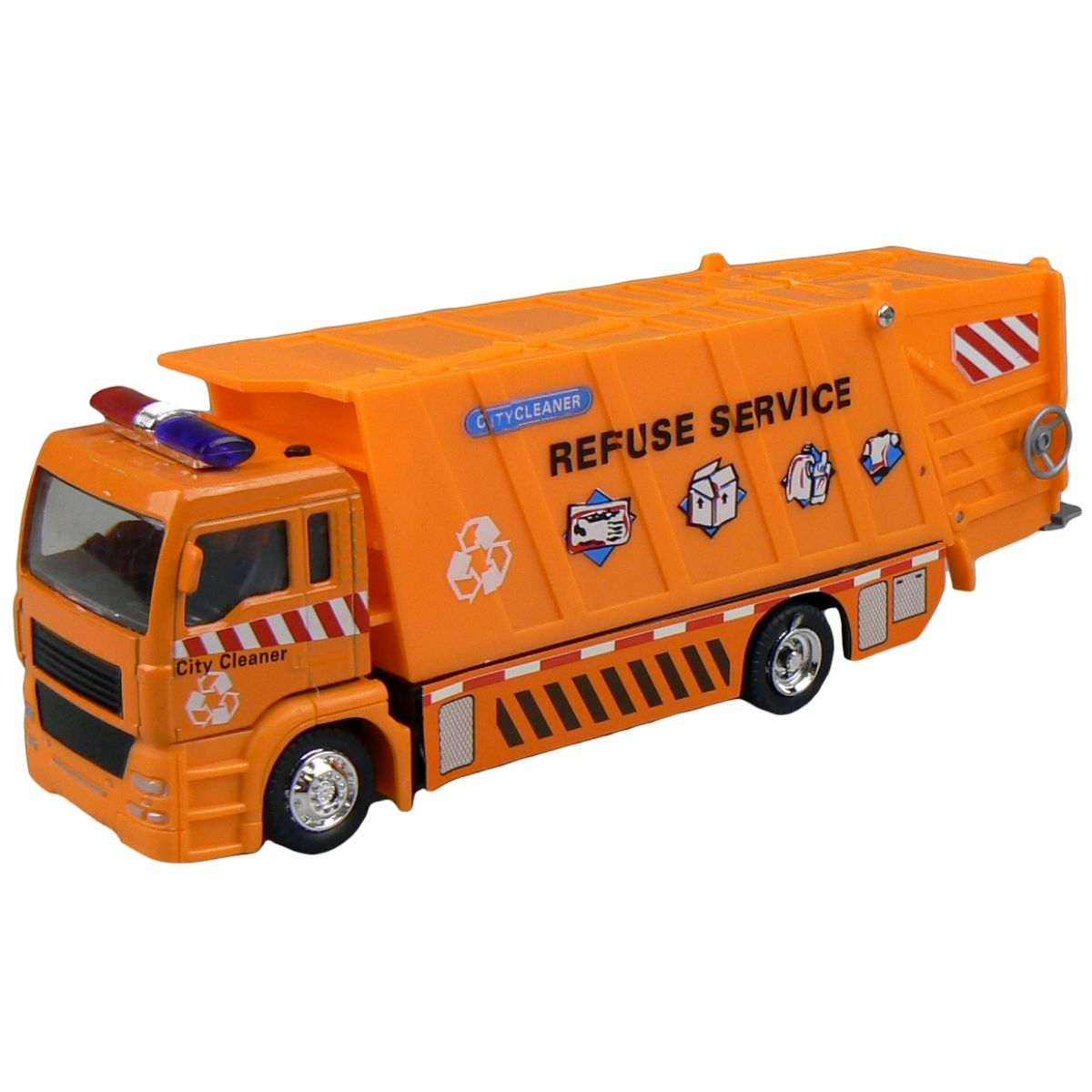 Auto Popelář 20 cm - Oranžová