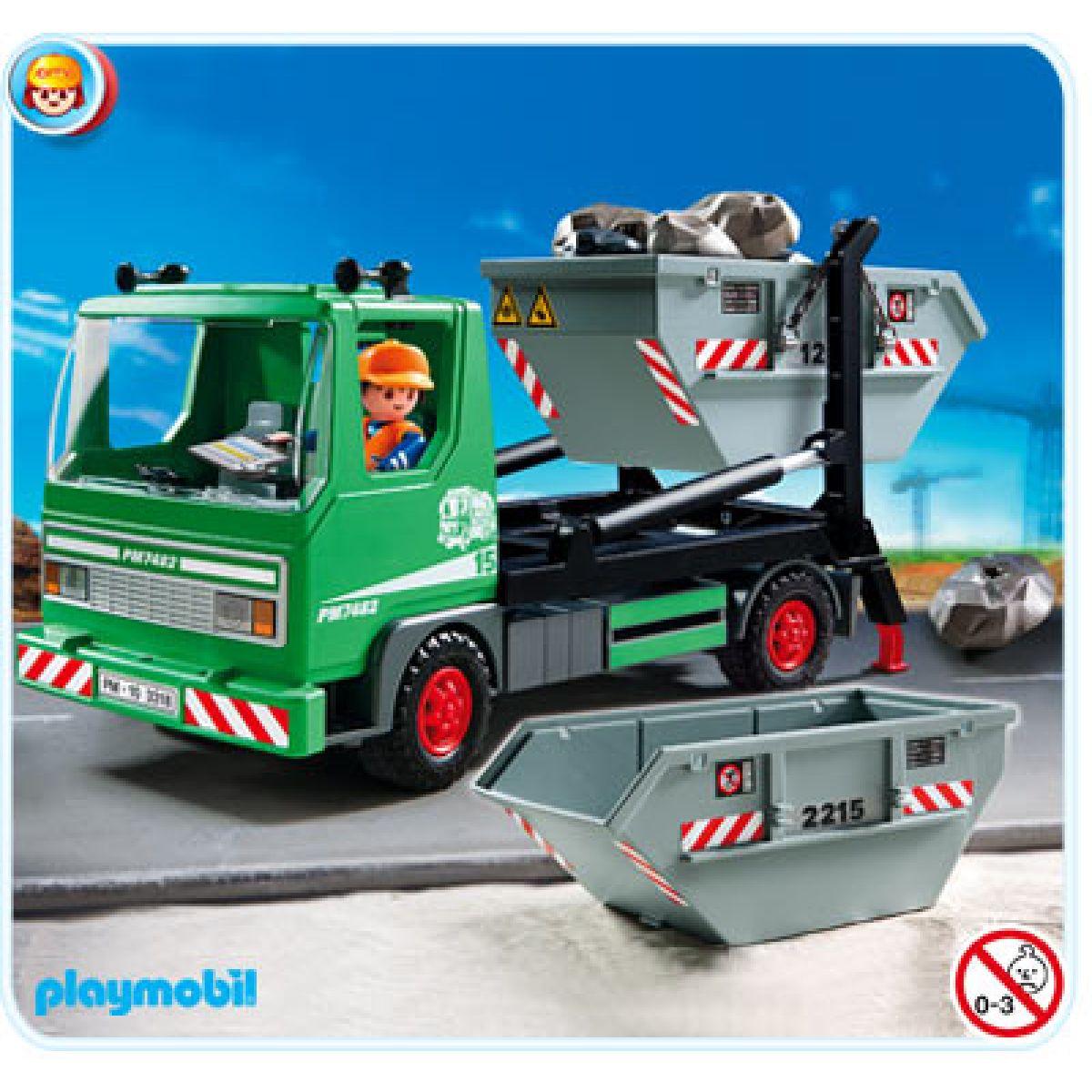 Auto s kontejnery Playmobil 3318