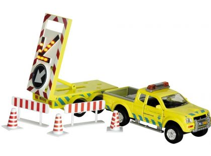 Auto s přívěsem - práce na silnici 27cm na zpětné natažení