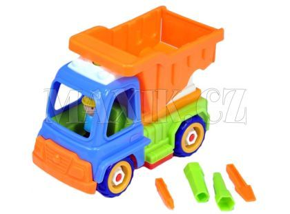 Auto sklápěcí šroubovací - Modro-oranžová