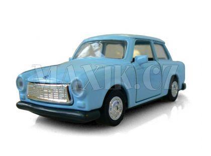 Auto Trabant kov 11cm na zpětné natažení