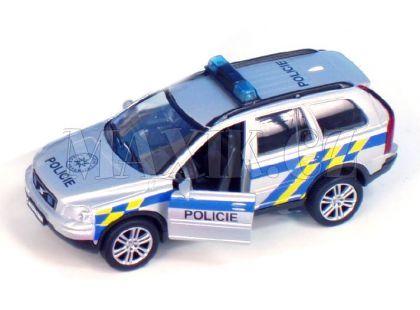 Auto Volvo Policie 14cm na zpětné natažení