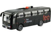 Autobus Leo express s českým hlasem