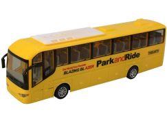 Autobus na dálkové ovládání 4 kanál se světlem žlutý