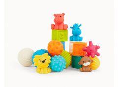 B kids Senzorické míčky, kostky a zvířátka