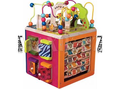 B.Toys Interaktivní krychle Zany Zoo