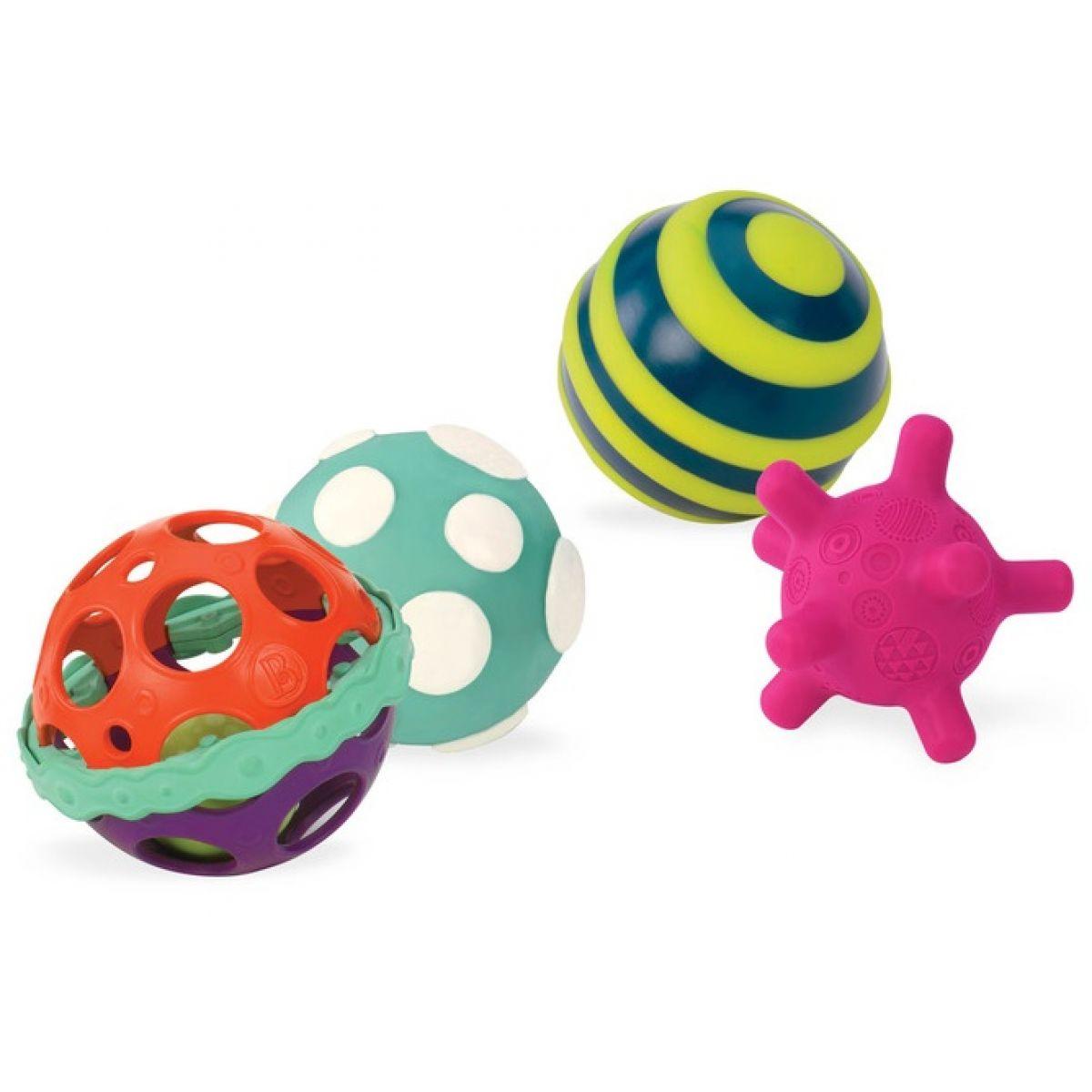 B.Toys Sada míčků Ball-a-baloos