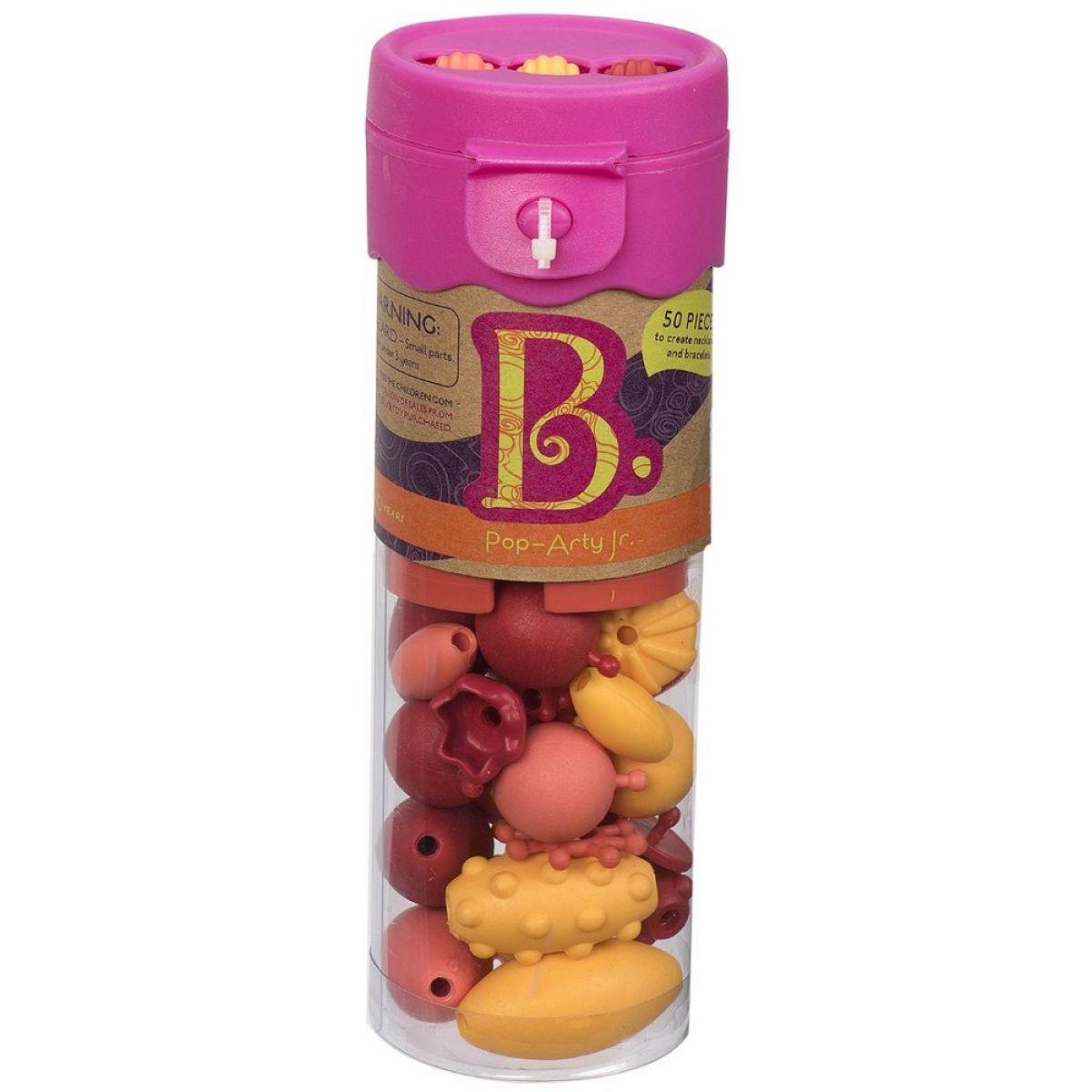 B.Toys Spojovací korále a tvary Pop Arty 50ks