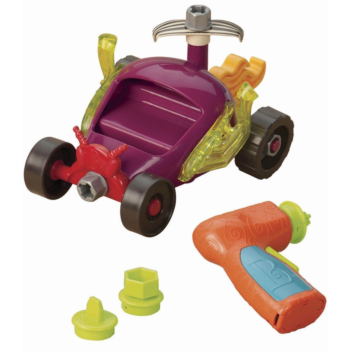 B.Toys Stavebnice Závodní auto