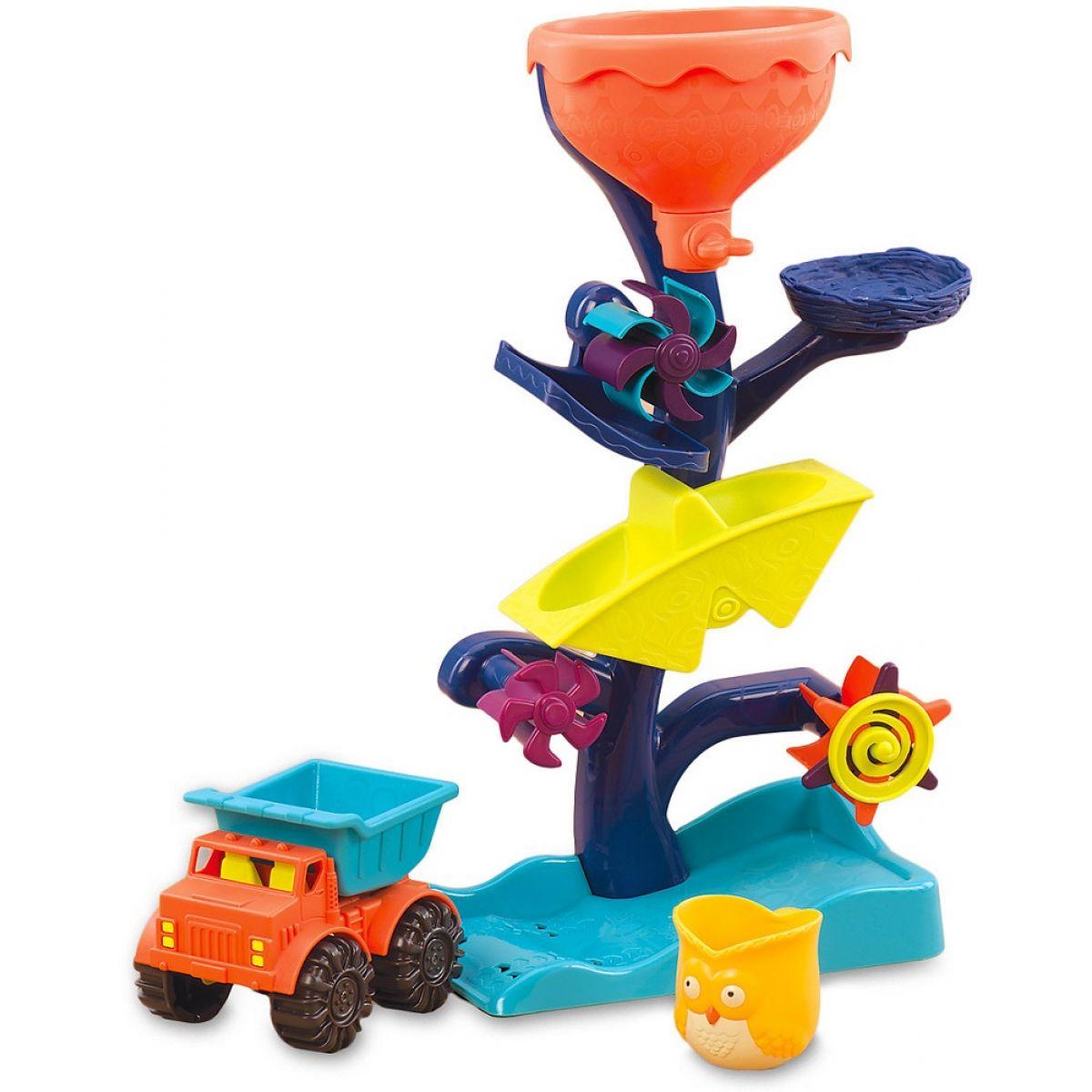 B.Toys Vodní mlýnek s náklaďákem