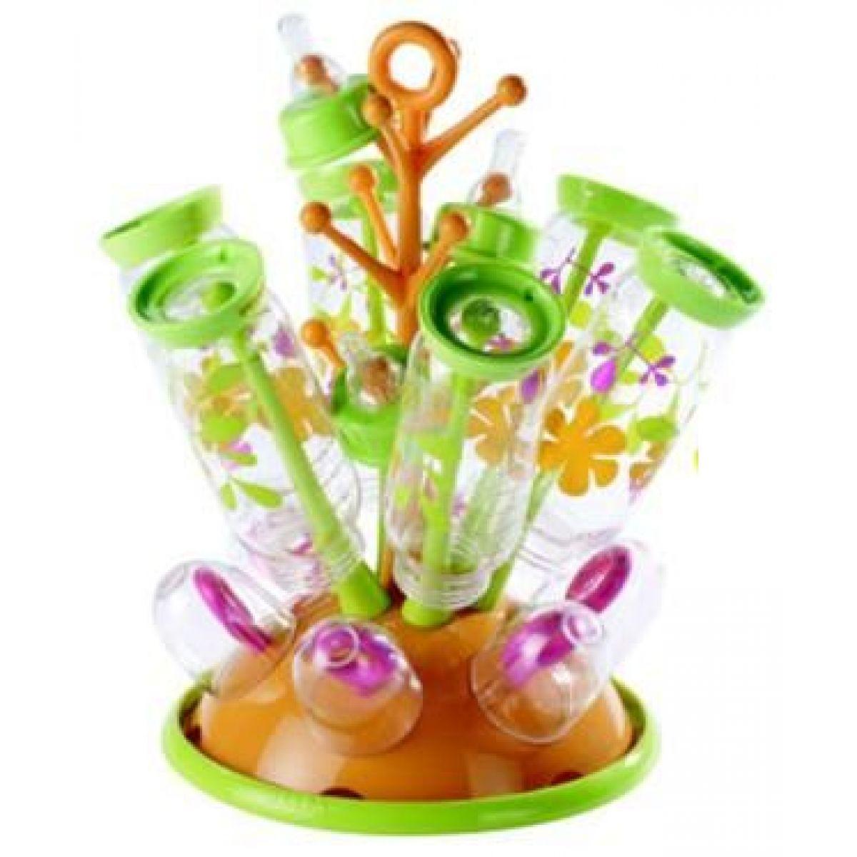 BÉABA Odkapávač kojeneckých lahví Gipsy - Oranžová