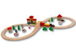 Babu Train Vláčkodráha se 40 dílky