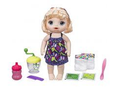 Baby Alive Blonďatá panenka s mixérem